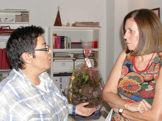 Cecilia Domínguez inaugura el curso 2005-2006