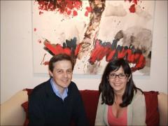 Haiku con Vicente Haya en mayo