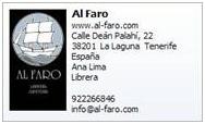 La ECCL y la librería Al-Faro en el Día del Libro