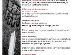 Curso de Creación Literaria 2009/2010