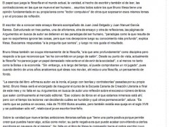 Bruno Mesa en La Opinión