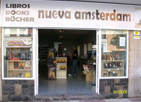 Nueva Amsterdam librería