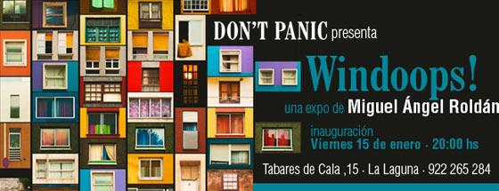 Exposición de Miguel Ángel Roldán en Don't Panic