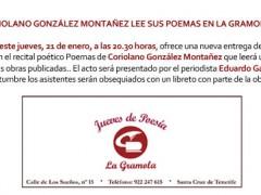 Coriolano González Montañez en La Gramola