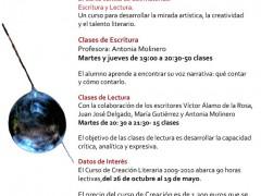 Curso de Creación Literaria 2010/2011