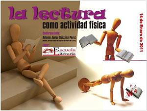 La lectura como actividad física