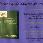 """""""Economía de bolsillo para no economistas"""" Xiomara Villanueva Domínguez"""