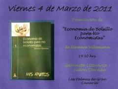 Presentación de la obra Economía de bolsillo para no economistas