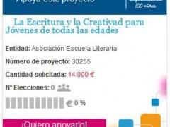 La Escritura y la Creatividad para Jóvenes de todas las edades en Banca Cívica