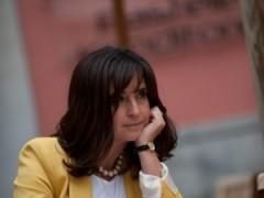 Antonia Molinero en el Diario de Avisos.