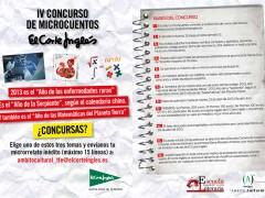 IV Concurso de Microcuentos de El Corte Inglés