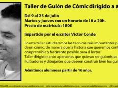 Taller de Guión de Cómics dirigido a adultos