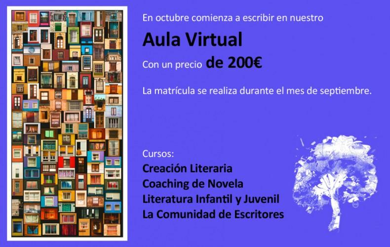 Apúntate en nuestro Aula Virtual