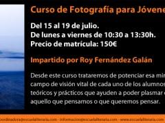 Curso de Fotografía para Jóvenes