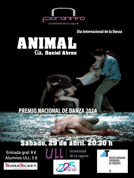CARTEL PARANINFO ANIMAL