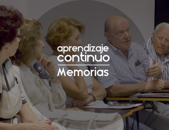 Curso de Escritura de Memorias 2020-2021