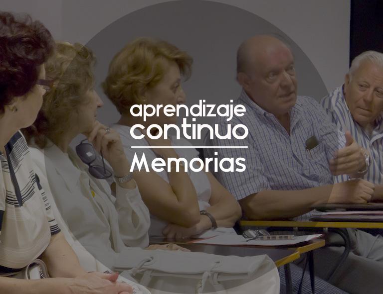 Curso de Escritura de Memorias 2018-2019