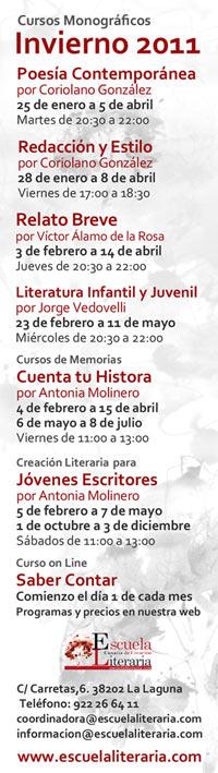 Cursos Monográficos de Invierno 2011