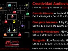 Creatividad Audiovisual para Jóvenes de 12 a 16 años.