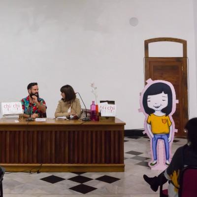 Presentación de Chinita, de Antonia Molinero