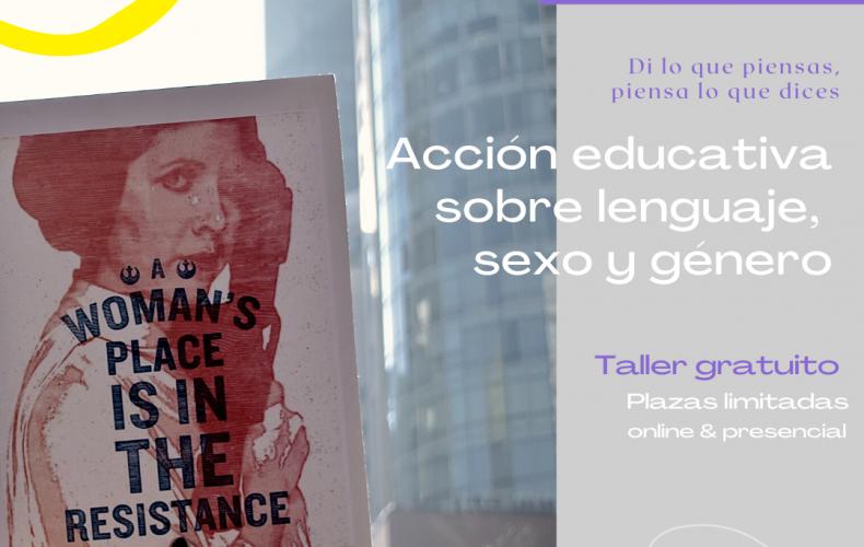 Acción formativa: Lenguaje, sexo y género